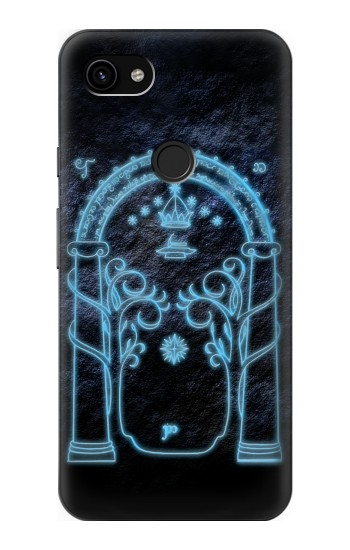 Printed Lord of The Rings Mines of Moria Gate Google Pixel 3a XL Case
