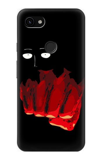 Printed One Punch Man Fight Google Pixel 3a XL Case