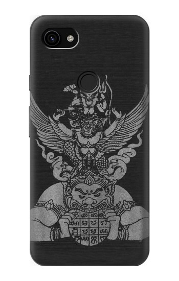 Printed Sak Yant Rama Tattoo Google Pixel 3a XL Case