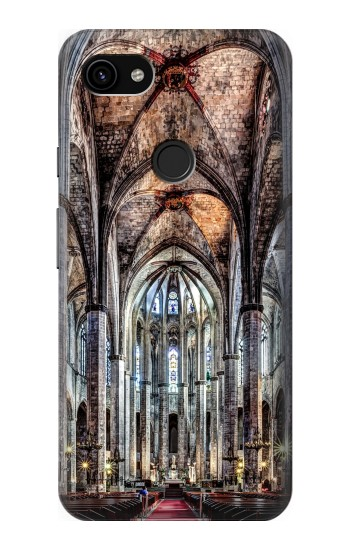 Printed Santa Maria Del Mar Cathedral Google Pixel 3a XL Case
