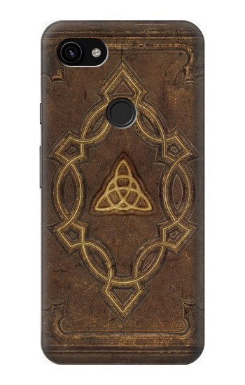 Printed Spell Book Cover Google Pixel 3a XL Case