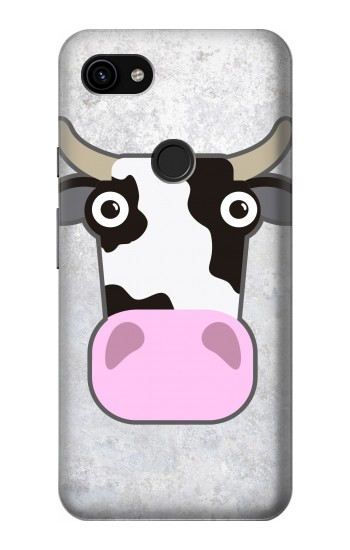 Printed Cow Cartoon Google Pixel 3a XL Case
