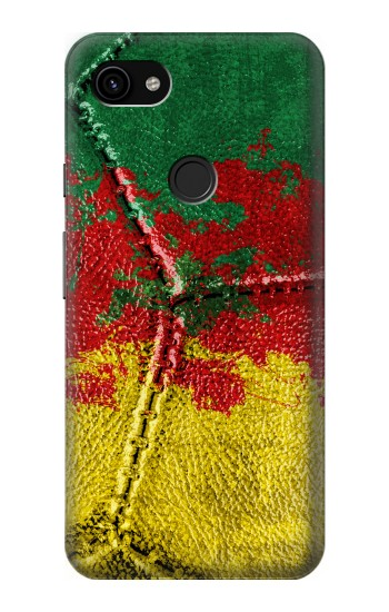 Printed Senegal Flag Vintage Football 2018 Google Pixel 3a XL Case