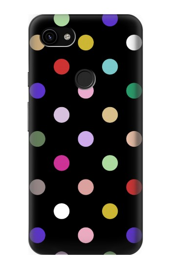 Printed Colorful Polka Dot Google Pixel 3a XL Case