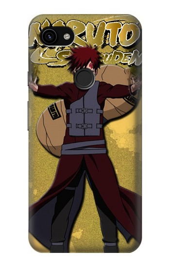 Google Pixel 3a XL Naruto Gaara of the Sand Case Cover