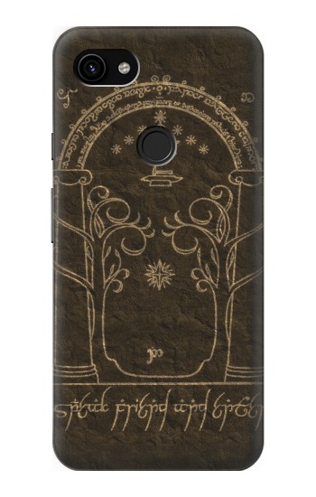 Printed Durin Door The Lord of The Rings Google Pixel 3a XL Case