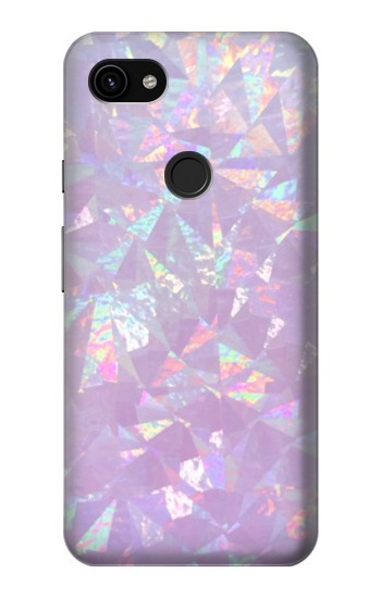 Printed Iridescent Holographic Photo Printed Google Pixel 3a XL Case