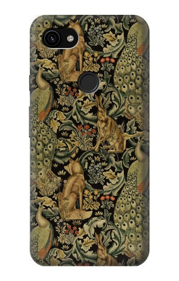 Printed William Morris Forest Velvet Google Pixel 3a XL Case