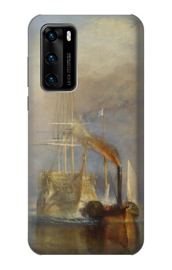 Printed Joseph Mallord William Turner The Fighting Temeraire Huawei P40 Case