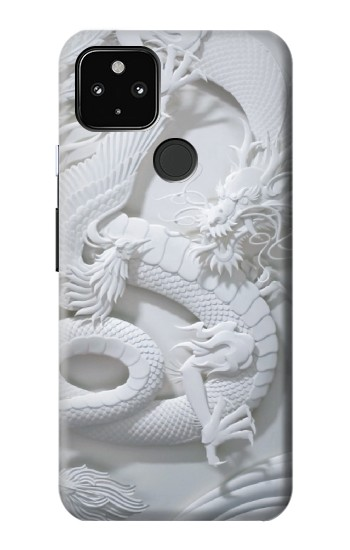 Printed Dragon Carving Google Pixel 4a 5G Case