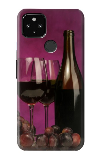 Printed Red Wine Google Pixel 4a 5G Case