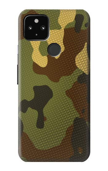 Printed Camo Camouflage Graphic Printed Google Pixel 4a 5G Case