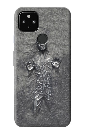 Printed Han Solo in Carbonite Google Pixel 4a 5G Case