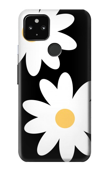 Printed Daisy White Flowers Google Pixel 4a 5G Case