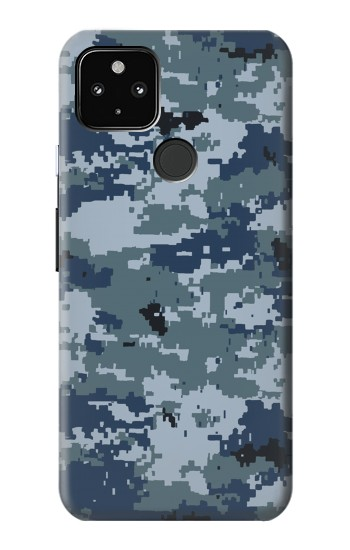 Printed Navy Camo Camouflage Graphic Google Pixel 4a 5G Case