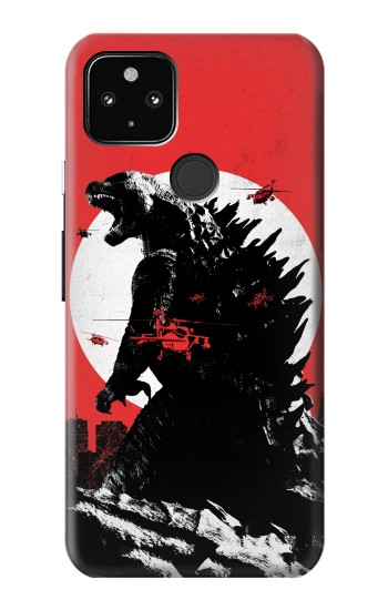 Printed Godzilla Japan Flag Google Pixel 4a 5G Case