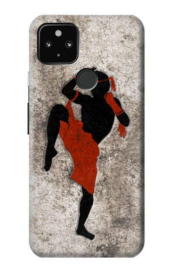 Printed Muay Thai Fight Boxing Google Pixel 4a 5G Case