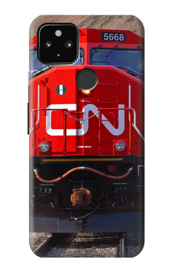 Printed Train Canadian National Railway Google Pixel 4a 5G Case