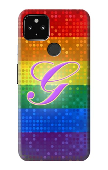 Printed Rainbow Gay Pride Flag Device Google Pixel 4a 5G Case