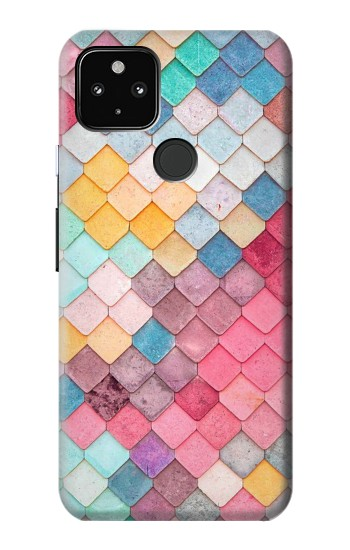 Printed Candy Minimal Pastel Colors Google Pixel 4a 5G Case