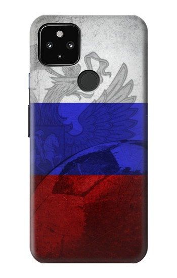 Printed Russia Football Flag Google Pixel 4a 5G Case