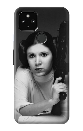 Printed Princess Leia Carrie Fisher Google Pixel 4a 5G Case