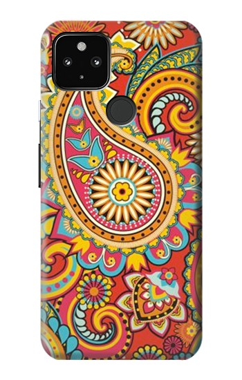Printed Floral Paisley Pattern Seamless Google Pixel 4a 5G Case