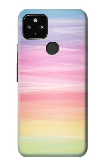 Printed Colorful Rainbow Pastel Google Pixel 4a 5G Case
