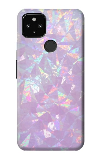 Printed Iridescent Holographic Photo Printed Google Pixel 4a 5G Case