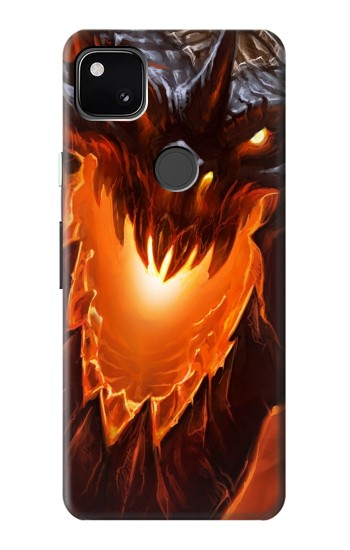 Printed Fire Dragon Google Pixel 4a Case