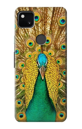 Printed Peacock Google Pixel 4a Case