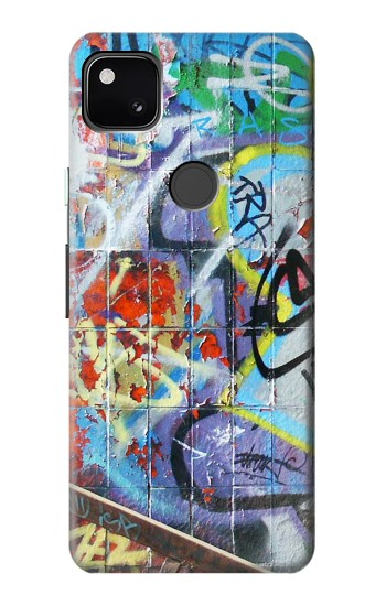 Printed Wall Graffiti Google Pixel 4a Case