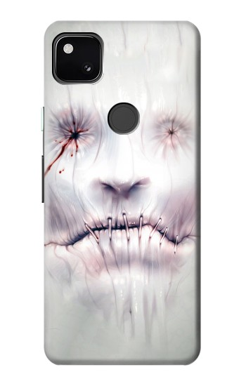 Printed Horror Face Google Pixel 4a Case