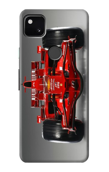 Printed Racing Car Formula One F1 Google Pixel 4a Case