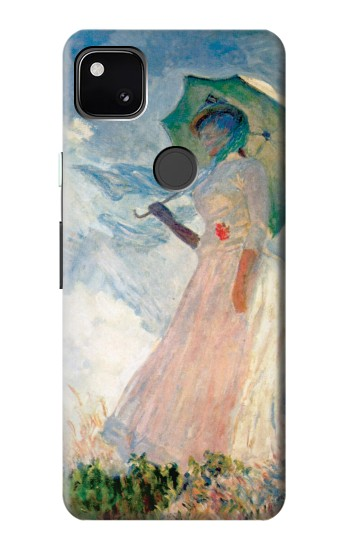 Printed Claude Monet Woman with a Parasol Google Pixel 4a Case