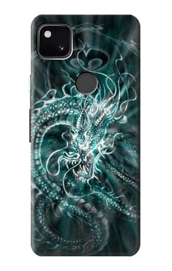 Printed Digital Chinese Dragon Google Pixel 4a Case