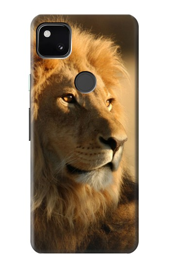 Printed Lion King of Forest Google Pixel 4a Case