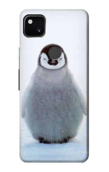 Printed Penguin Ice Google Pixel 4a Case