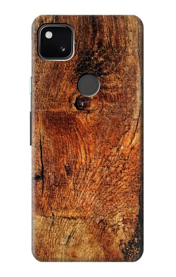Printed Wood Skin Graphic Google Pixel 4a Case