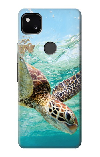 Printed Ocean Sea Turtle Google Pixel 4a Case