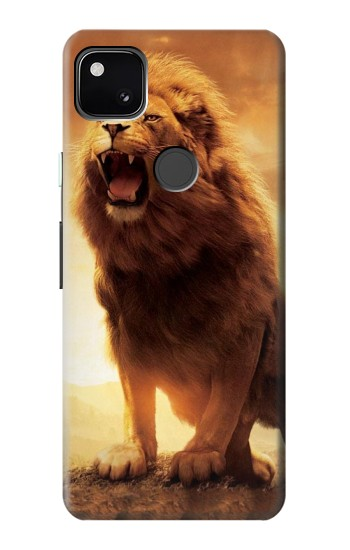 Printed Lion Aslan Google Pixel 4a Case