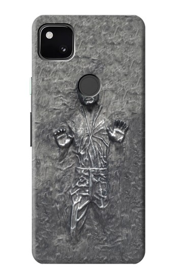 Printed Han Solo in Carbonite Google Pixel 4a Case