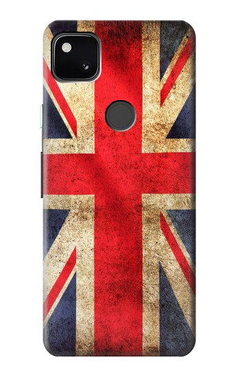 Printed British UK Vintage Flag Google Pixel 4a Case