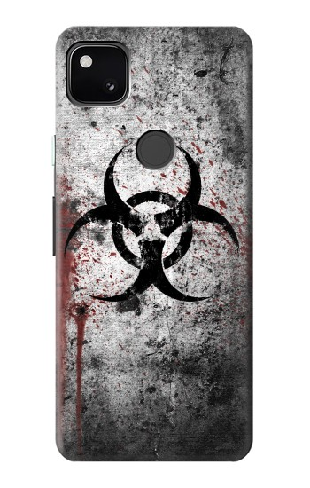Printed Biohazards Biological Hazard Google Pixel 4a Case