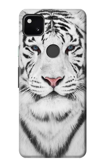 Printed White Tiger Google Pixel 4a Case