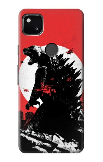 Printed Godzilla Japan Flag Google Pixel 4a Case