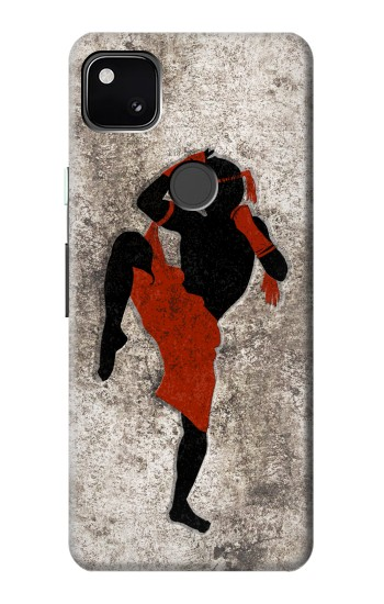 Printed Muay Thai Fight Boxing Google Pixel 4a Case