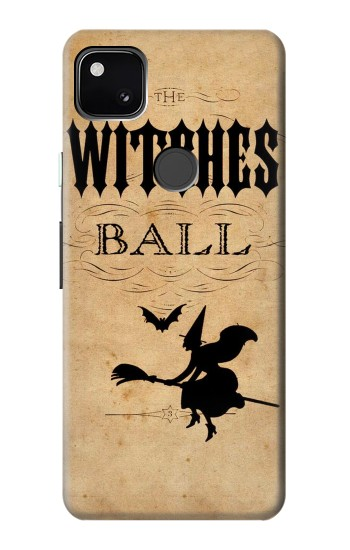Printed Vintage Halloween The Witches Ball Google Pixel 4a Case