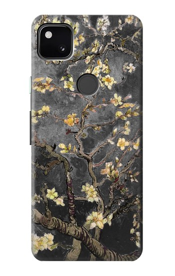 Printed Black Blossoming Almond Tree Van Gogh Google Pixel 4a Case