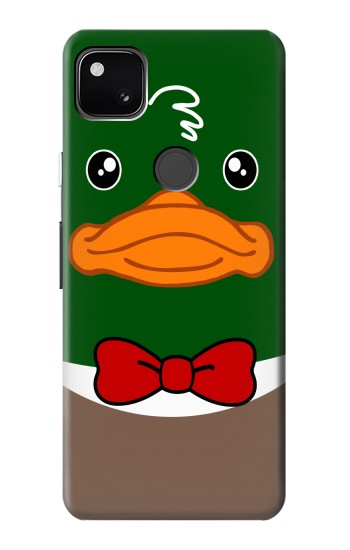 Printed Green Head Mallard Duck Google Pixel 4a Case